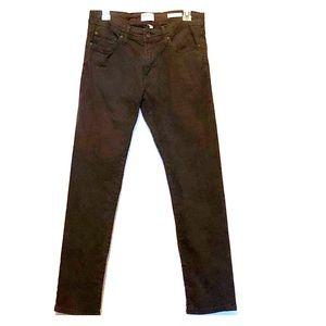 William Rast Dean Slim Straight Jeans Brown 31/30